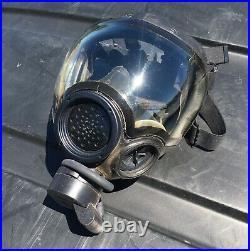MSA Millennium Full Face Gas Mask CBRN Size Small Respirator 40mm Riot Controll