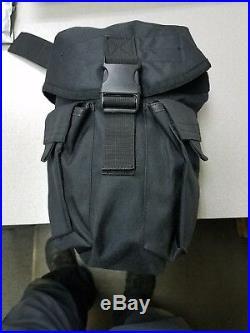 MSA Millennium Gas Mask Respirator Medium 10051287 with drop leg carry