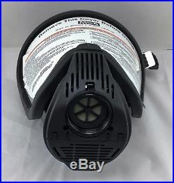 MSA Ultra Elite APR/CBRN/NBC Hycar Respirator Gas Mask Size Med Part# 7-934-1c