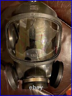 MSA Ultra Twin Gasmask Respirator Size Large