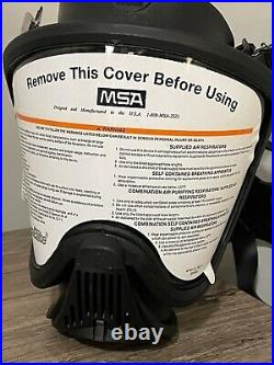 MSA Ultra elite full face respirator with NEW CBRN Filter (exp 2023)/Gas Mask