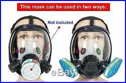 Máscara de Gas de Respirador cara completa a prueba Fuego y Pesticidas