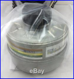 Mestel SGE 400/3 Gas Mask Military-Grade 40mm NATO NBC Filter, Exp 2023 Small