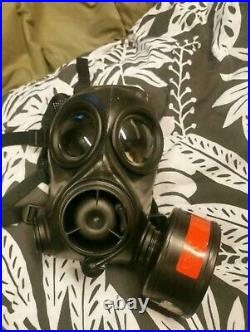 Militairy FM12 British gas mask respirator Size 1 + bag and filter