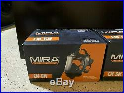 Mira Safety CM-6M CBRN Respirator Gas Mask