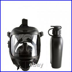 Mira Safety Cm-6m Tactical Gas Mask With Full Face Respirator For Cbrn Defense