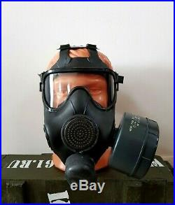 Modern Russian Panoramic Gas Mask Respirator PMK-S for Special Forces. Size M