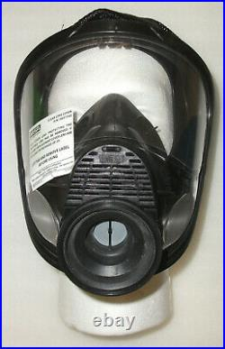 Msa 10075909 Full Face Respirator Hycar 4000 Assembly Mask Gas Medium New
