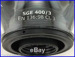 NBC Gas Mask NATO SGE 400/3 + Military-Grade 40mm NBC Filter Exp 03/2024 ALL NEW