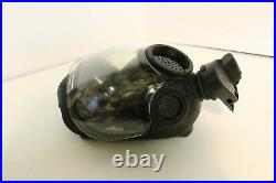 NEW MSA 10051287 MD Millennium Riot Control Gas Mask Medium Clear