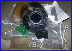NIB Brand New Sealed MSA Millennium CBRN GAS MASK Riot Control NBC RespiratorL