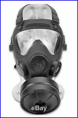 New MP5 Respirator Gas Mask size 2 With 1 New Filter + 1 New Bag