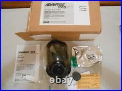 New Msa Adavantage 1000 Riot Control Full Face Respirator Gas Mask Size Medium