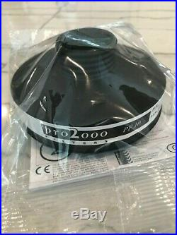 North safety 5400 54501 CBRN Gas mask Respirator with2 filters EXP 2030 40mm NATO