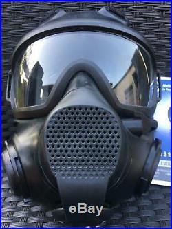 ORIGINAL AirBoss Low Burden Defense Face Mask Gas Mask Respirator RRP$725+