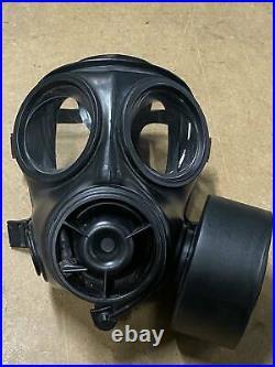 Original British Army AVON S10 NBC RESPIRATOR GAS MASK GOOD CONDITION SIZE 3