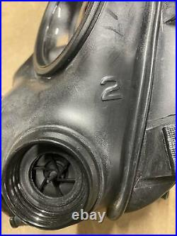 Original British Army AVON S10 NBC RESPIRATOR GAS MASK UNISSUED SIZE 2
