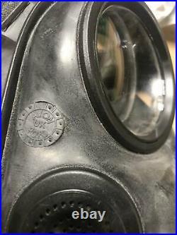 Original British Army AVON S10 NBC RESPIRATOR GAS MASK UNISSUED SIZE 4