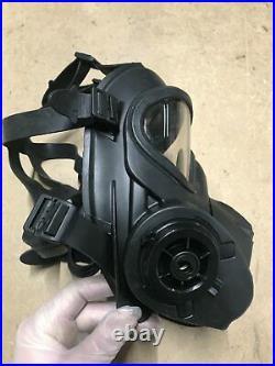 Original British Army Scott GSR General Service Respirator Gas Mask With Bag