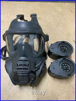 Original British Army Scott GSR General Service Respirator Gas Mask With Filters