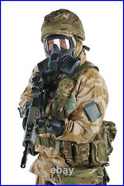 Original British Gsr Gas Mask, General Service Respirator+filter+case/bag