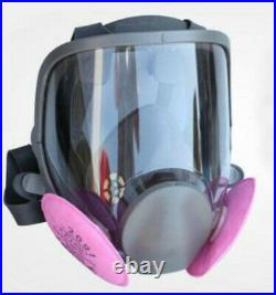Painting Spray Full Face Gas Mask Facepiece Respirator ships from Florida