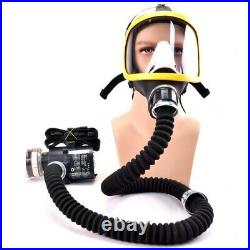 Protective Electric Constant Flow Supplied Air Fed Full Face Gas Mask Respirator