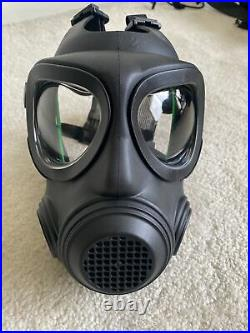 RARE Swedish A4 Forsheda Gas Mask Respirator No Filter New Condition