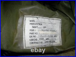 Rare US M48 Apache Helicopter Aircraft CBRN GAS MASK NBC Respirator with Blower