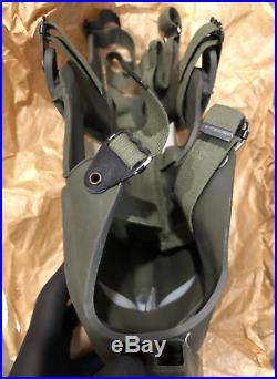 Rare collectible Vietnam XM-28E4 XM28E4 Grasshopper respirator gas mask