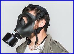 Respirator CBRN Military Gas Mask with Sealed 40mm Fr15 canister