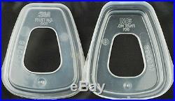 Respirator Painting Spray Gas Mask 3M 6200 501 5N11 6001 2091 7502 7pcs set suit