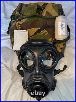 S10 Gas Mask Size 2 GOOD CONDITION British Army Respirator SAS Costume 1987