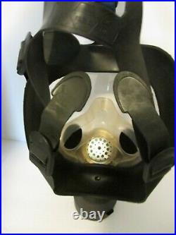 SEA SMF Full Facepiece Respirator Gas Mask With Military 40mm Israeli Filter