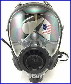 SGE 400/3BB Butyl Rubber Gas Mask Medium/Large