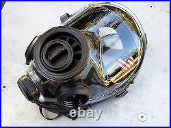 SGE 400/3BB Tactical 40mm NATO Gas Mask, for NBC & Impact Protection New M/L