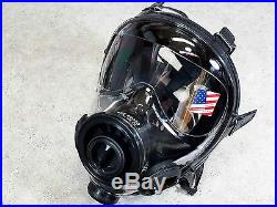 SGE 400/3 Gas Mask with2x Hi-End 40mm NATO NBC/CBRN Filters Premium Protection NEW