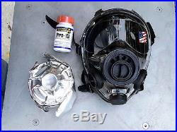 SGE 400/3 Tac NBC Gas Mask (40mm NATO) With CBRN Filter 2023 & PKI 30ct