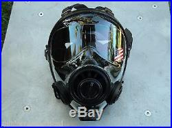 SGE 400/3 Tactical 40mm NATO Gas Mask with NBC-CBRN Filter Exp 04/2024 BRAND NEW
