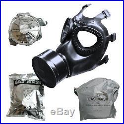 San Cheong S-3 Gas Mask (made in Korea)
