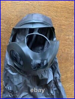 Sas Uksf Fm53 Gas Mask Gore Chempak Hood Rare Avon Respirator