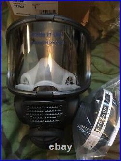 Scott FM3 Promask Gas Mask Respirator size M/L+Optional PF10 40mm Filter NBC ABC