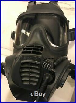 Scott FRR CBRN IN STOCK NEW full face Gas mask Respirator -BEAT AVON 40mm LARGE