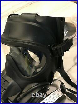 Scott FRR CBRN NEW full face Gas mask Respirator 40mm LARGE BEAT AVON in test