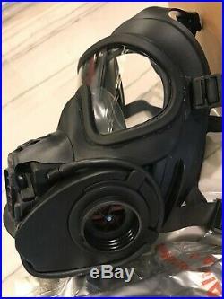 Scott FRR CBRN full face Gas mask Respirator 2 filters 2030- BEAT AVON 40mm MED