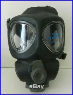 Scott Full Face Respirator NBC Gas Mask Prepper Military Police Fire Small
