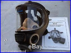 Scott M120 CBRN 40mm NATO NBC Gas Mask, Size SMALL #013014