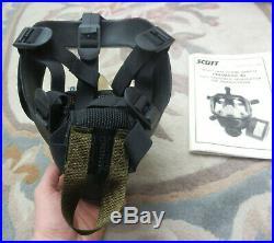Scott Promask 40 Full Face Respirator Gas Mask 40mm NATO NBC Size MEDIUM/LARGE