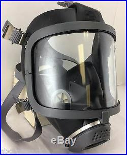 Scott/SEA Domestic Preparedness 3 Three Gas Masks with Mestel Filters Exp2022