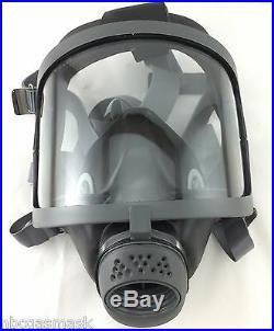 Scott/SEA Domestic Preparedness FP Gas Mask & Voice Amp + New 5/2023 NBC Filter